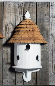 Lazy Hill Half Bird House