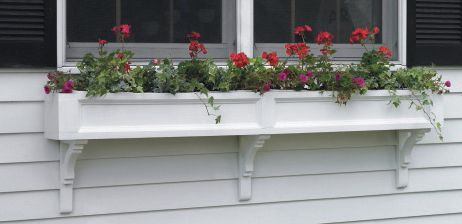 Federal Window Box 30in 2 Brackets