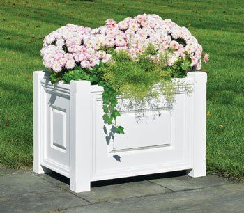 Linden Planter Rectangular