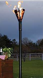 Permanent Mount Patio Lights Copper Cone Head