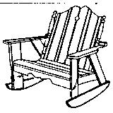Nantucket Settee Rocker