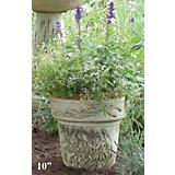 Burley Clay Hand Painted Lavender Planter