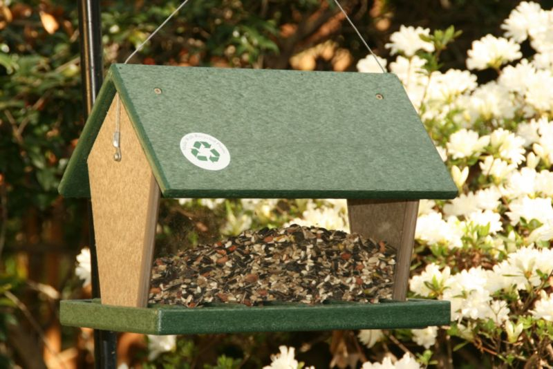4 Quart Hopper Feeder Hunter Green (SERUBHF100 645194000247 Wild Bird Supplies Bird Feeders) photo
