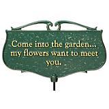 Garden Poem Sign