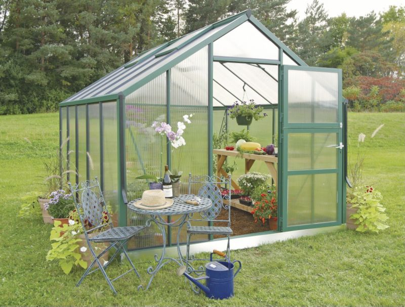 Juliana Premium Greenhouse 8.3 Green w Base