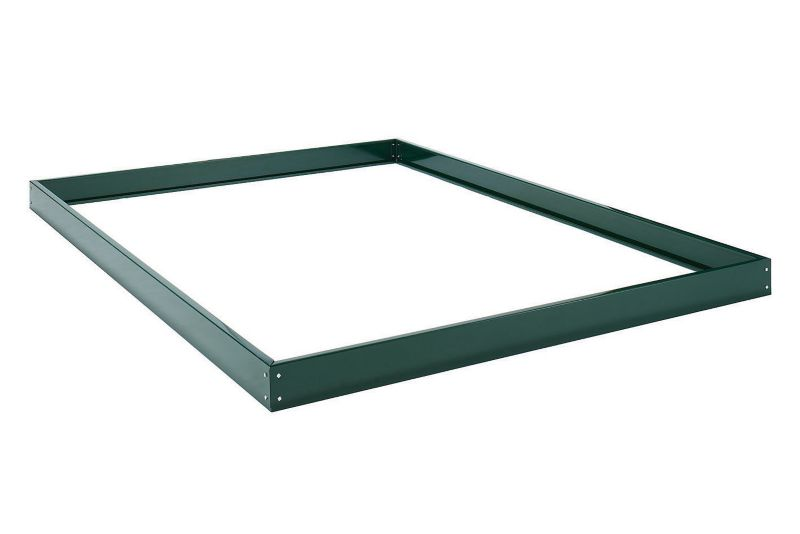 Halls Greenhouse Base Popular 4x6 Green
