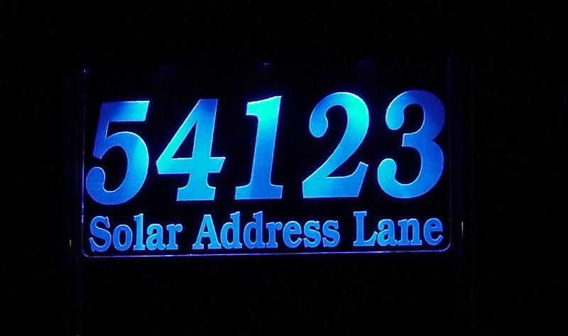 Prestige Solar Address Light Small Green