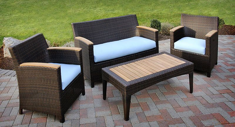 Teak and Wicker Leisure Collection
