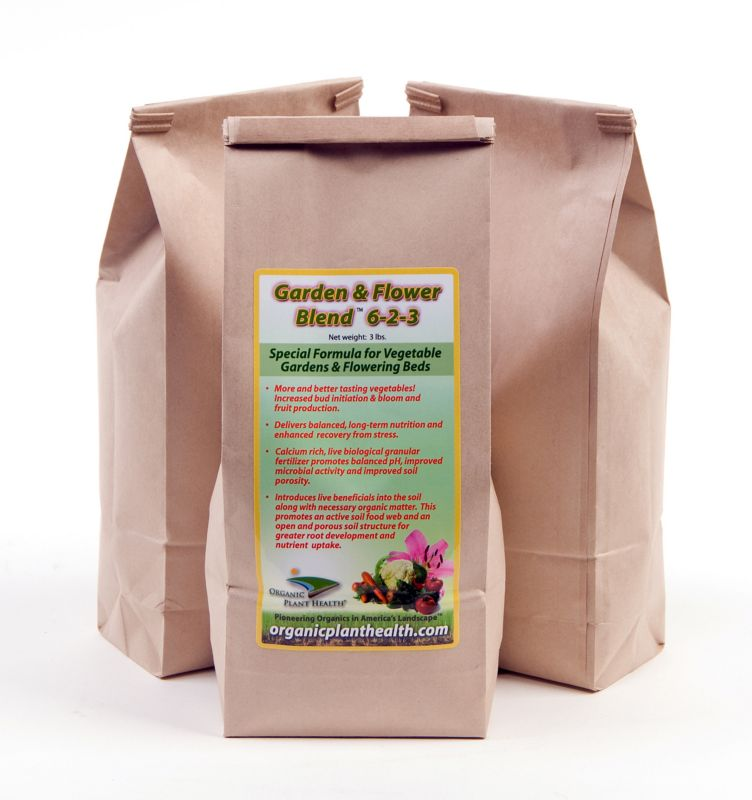 Garden and Flower Blend 25lb