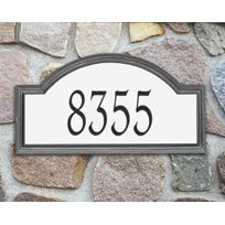 Providence Arch Reflective Estate Wall Pewter