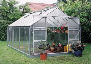 Compact Greenhouse 12.1 Aluminum With Base