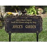 Butterfly Poem Garden Plaque