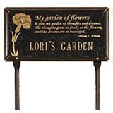 Dianthus Garden Plaque