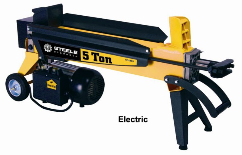 Log Splitter 5 Ton Electric