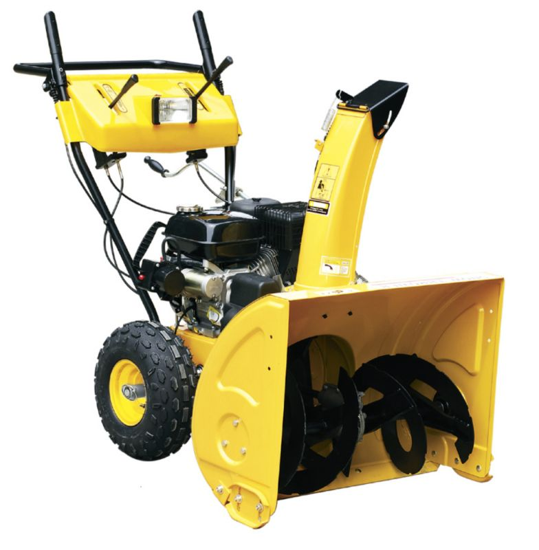 Heavy Duty Snow Blower 24in Clearing Width