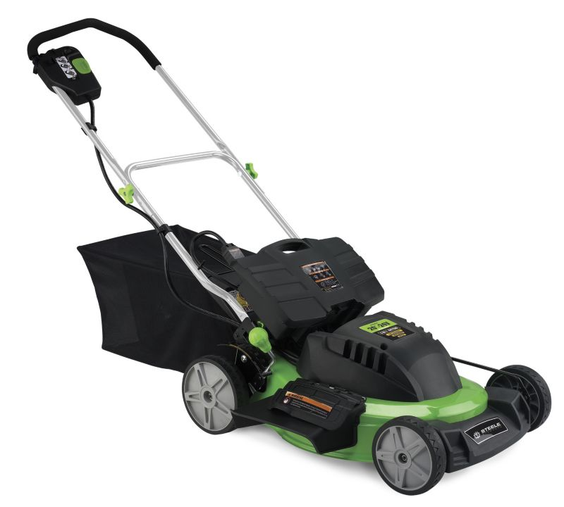 Electric Lawn Mower 20in Cordless-Self Propelled