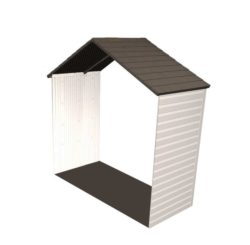 Storage Shed Expansion Kit 8x2.5 One Window