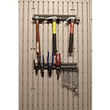 16in Accessory Peg Strips With 10 Tool Hooks