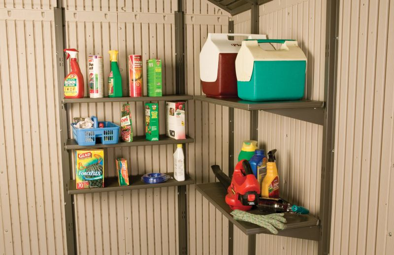 Lifetime Products Storage Building Shelf Kit 30x14