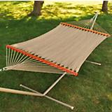 Deluxe Caribbean Soft Polyester Rope Hammock