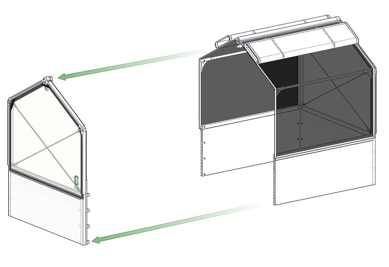 Grow Camp Ultimate Starter Greenhouse 4 x 4 x 5