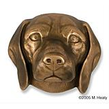 Beagle Dog Head Door Knocker