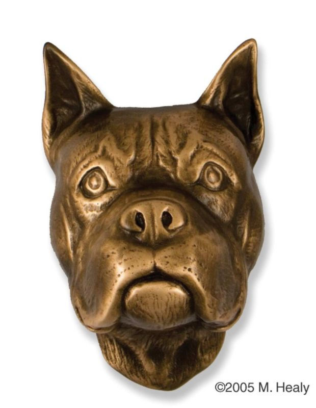 Boxer Dog Head Door Knocker