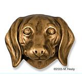 Dachshund Dog Head Door Knocker