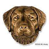 Golden Retriever Dog Head Door Knocker