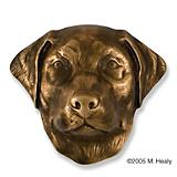 Labrador Retriever Dog Head DoorKnocker