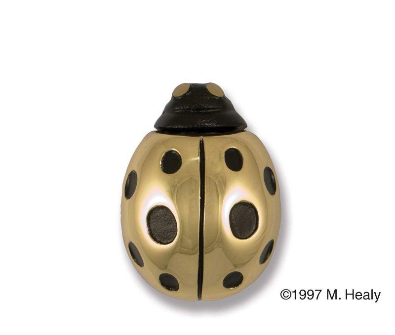 Ladybug Door Knocker Bronze