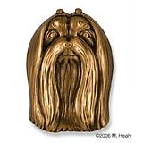 Maltese Dog Head Door Knocker