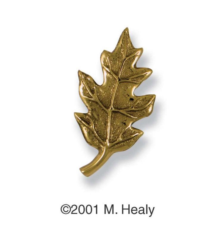 Brass Oak Leaf Ringer