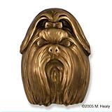 Shih Tzu Dog Head Door Knocker