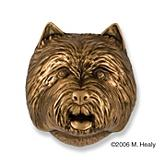 Westie Dog Head Door Knocker