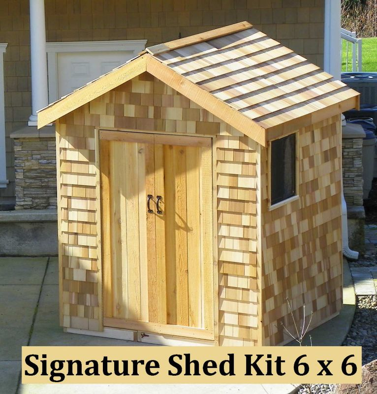 Signature Shed Kit 6x3 Shed