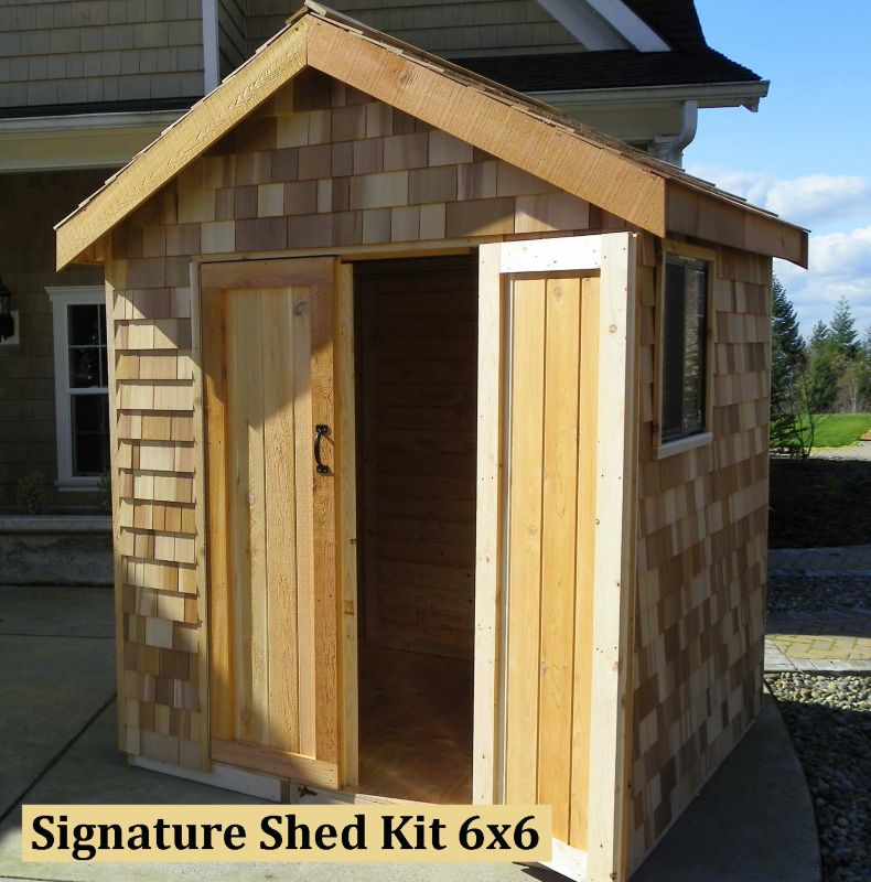 Signature Shed Kit 6x6 Shed