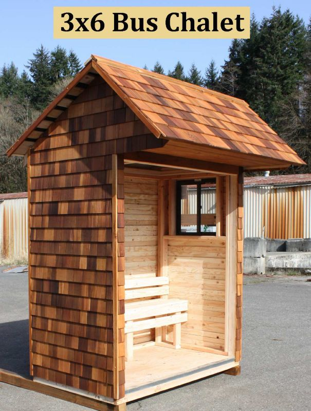 Signature Shed Kit 3x6 Bus Chalet