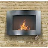 Adena Wall Mounted Fireplace