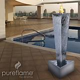 Tower of Fire Freestanding Fireplace