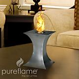 Concave Fire Table Top Fireplace
