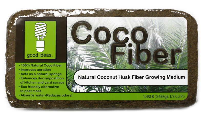 Coco Fiber for Compost Wizard