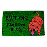 Attack Dog Coir Doormat