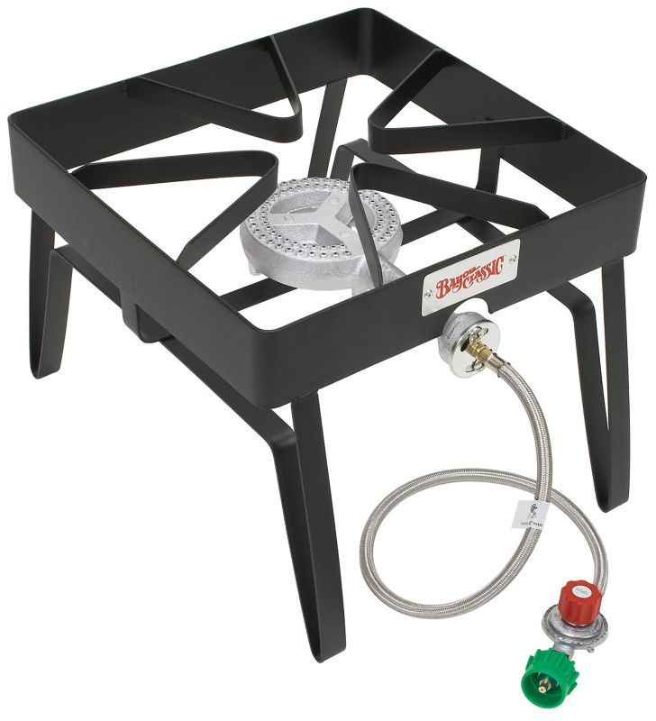 16 In Square Patio Stove Heavy Duty Steel