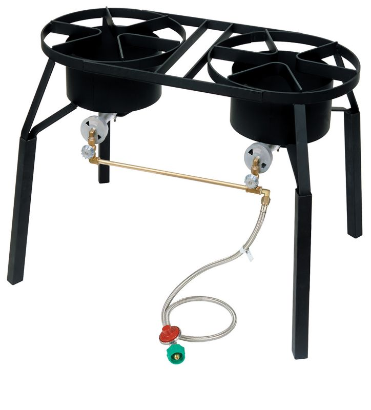 Dual High Pressure Burner w Extension Legs