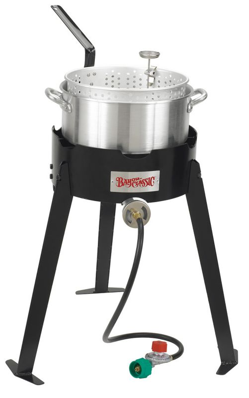 19 In High Pressure Aluminum Fish Cooker