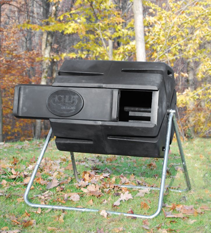 Spinning Horizontal Composter