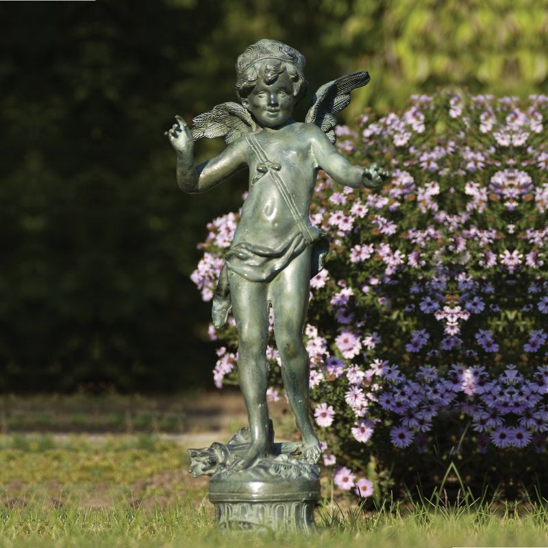 Bronze statues sculptures for Whimsical garden statues