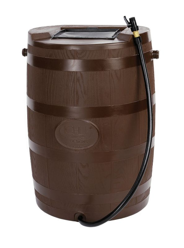 54 Gallon Brown RainBarrel