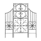 Achla Aldrich II Metsal Wall Trellis Set of 2